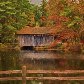 Jeff Folger -  The Dummerston covered bridge