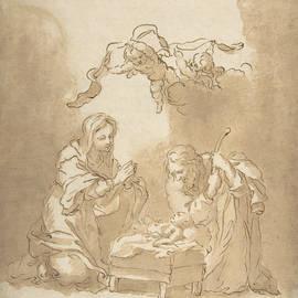 The Nativity - Bartolome Esteban Murillo