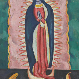The Virgin of Guadalupe - Marsden Hartley