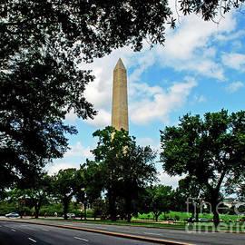 Washington Monument by Gary Wonning