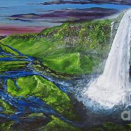 Waterfall by Jennifer Gonzalez