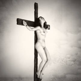 Ramon Martinez - Woman on crucifix