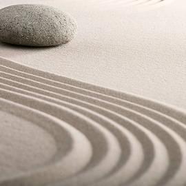 Zen Sand Stone Garden by Dirk Ercken