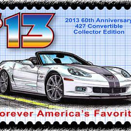 2013 60th Anniversary 427 Convertible Corvette by K Scott Teeters