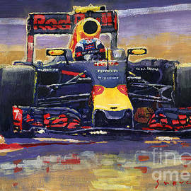 2016 Spain GP Max Verstappen Red Bull-Renault Winner - Yuriy Shevchuk