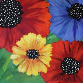 2017 Poppy Series No.11 by Carole Sluski