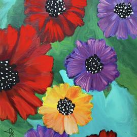 2017 Poppy Series No.15 by Carole Sluski