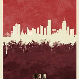 Michael Tompsett - Boston Massachusetts Skyline