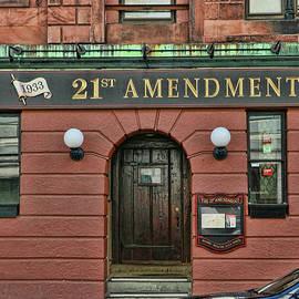Allen Beatty - 21st Amendment - Boston