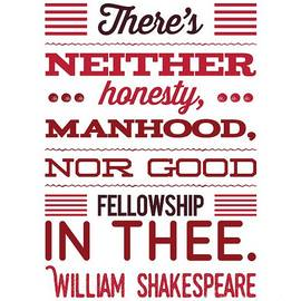 Esoterica Art Agency - William Shakespeare, Insults and Profanities