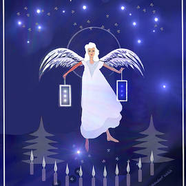 Irmgard Schoendorf Welch - 2558 Merry Christmas Angel V