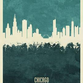 Michael Tompsett - Chicago Illinois Skyline