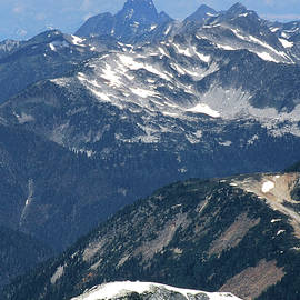 2m04207 Sleese Mtn From Mt. Challenger by Ed Cooper Photography