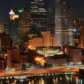 A Pittsburgh Night by Frozen in Time Fine Art Photography