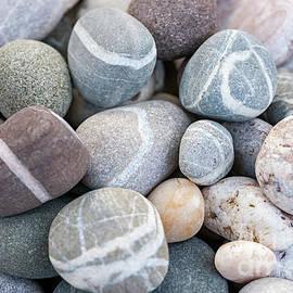 Beach Pebbles by Elena Elisseeva