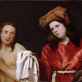 Michiel Sweerts - Clothing the Naked
