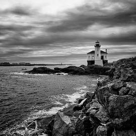 Coquille Lighthouse by Steven Clark