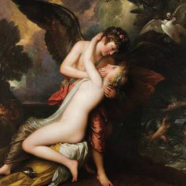 Cupid and Psyche - Benjamin West