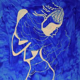 Gloria Ssali - Dinka in Blue - South Sudan