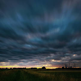 Mizantroop - Dramatic and expressive early morning storm cloudscape