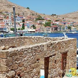 David Fowler - Emborio village on Halki