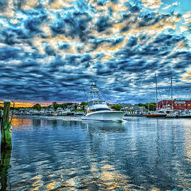 Falmouth Harbor Cape Cod by Gestalt Imagery