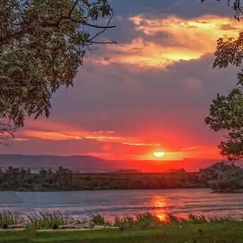 Robert Bales - Framed Sunset