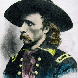 George Armstrong Custer - American School