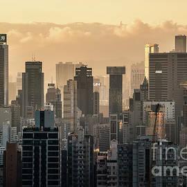Hong Kong Sunset by Didier Marti