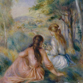 Pierre Auguste Renoir - In the Meadow