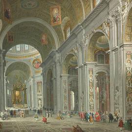 Interior of Saint Peter
