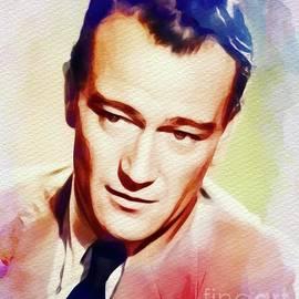 John Wayne, Vintage Movie Star - John Springfield