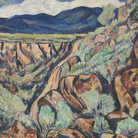 Marsden Hartley - Landscape, New Mexico