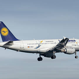 Lufthansa Airbus A319-114 - Smart Aviation
