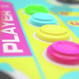 Luminous Arcade Control Panel  - Allan Swart
