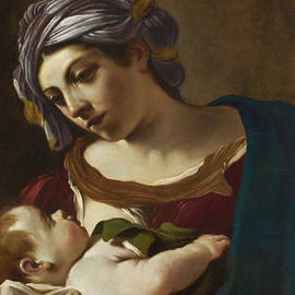 Madonna and Child - Guercino