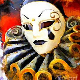 Alan Armstrong - # 3 Mask Venetian Italy