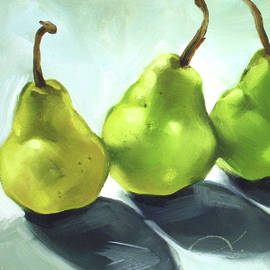 3 Pears by Lynn Snyder-Hinds
