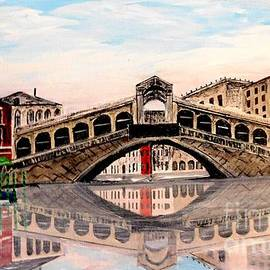 Rialto Bridge by Irving Starr