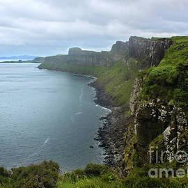 Scotland Isle Of Skye Kilt Rock by Gregory Dyer