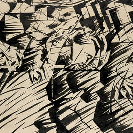 Umberto Boccioni - States of Mind - Those Who Go