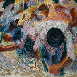 The Street Pavers - Umberto Boccioni