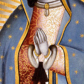 Mexican School - The Virgin of Guadalupe