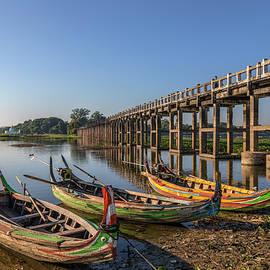 U Bein Bridge - Myanmar - Joana Kruse