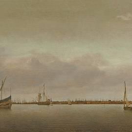 Abraham de Verwer - View Of Hoorn