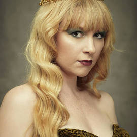 Amanda Elwell - Young Woman Wearing Crown