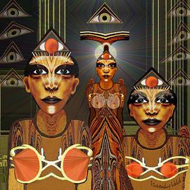 Irmgard Schoendorf Welch - 338 - Egyptian  fantasy 2017