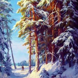 Edna Wallen - Nature Landscape Painted