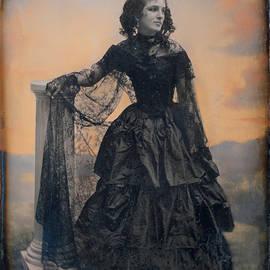 Black Taffeta Dress by S Paul Sahm