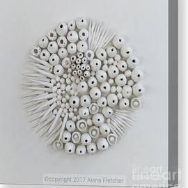 Alena Fletcher - 3D sculpture on gesso board